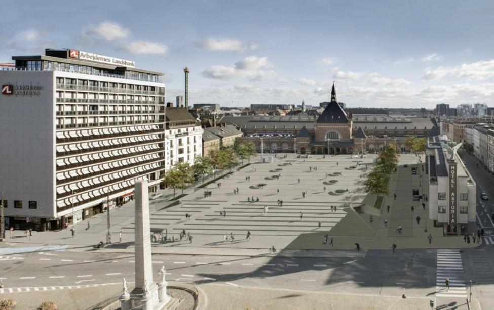 Nobel arkitekter banegårdsplads københavns hovedbanegård