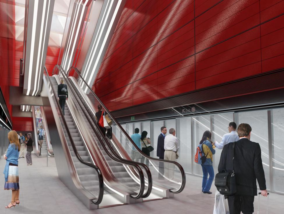 Køebnhavns Hovedbanegård station metro cityring