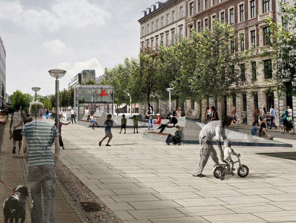 Københavns Hovedbanegård metrocityring forplads halmtorvet