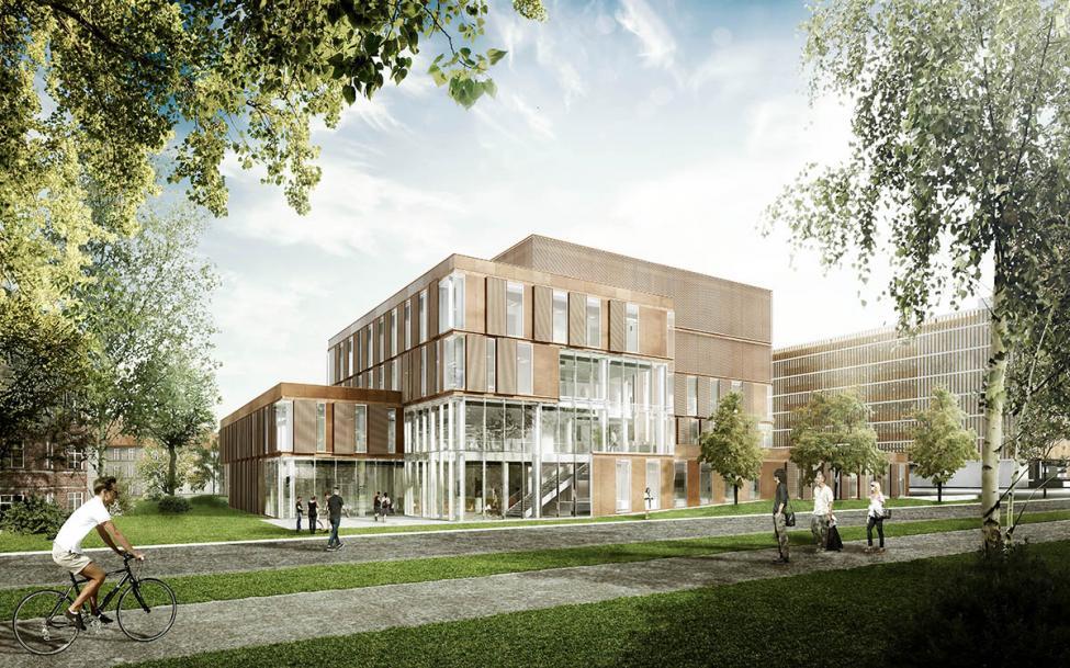 bispebjerg hospital laboratorie og logistikbygningen
