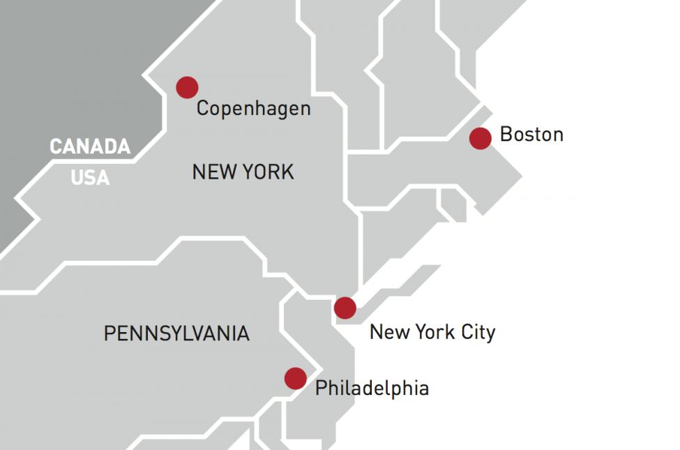map copenhagen new york canada