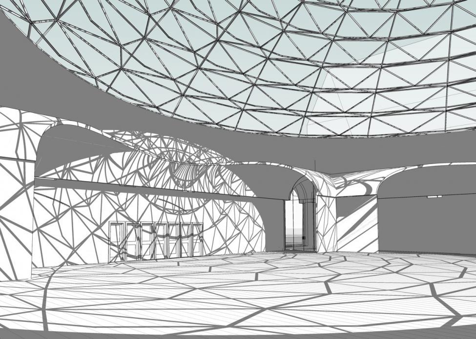 Ny moske Nørrebroparken interiør