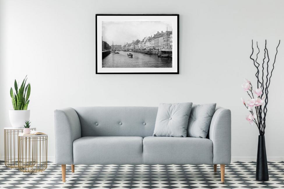 MyCanvas københavn fotografi nyhavn sofa