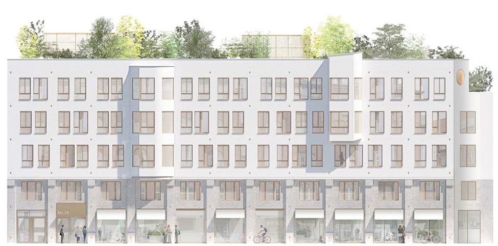 facade ny østergade praksis arkitekter