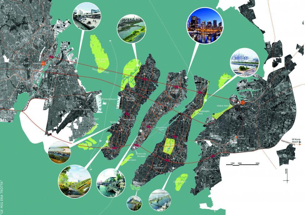 öresund city oversigt