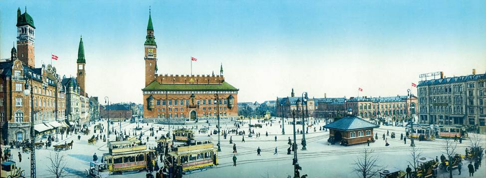 Rådhuspladsen København 1910