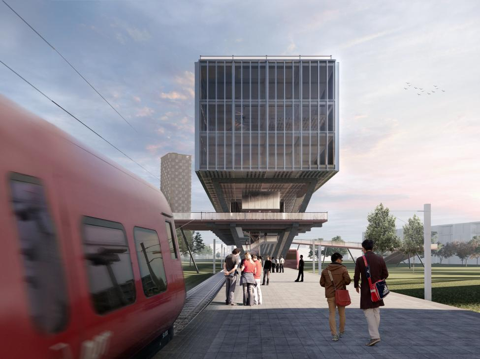 station nordvestpassagebygning