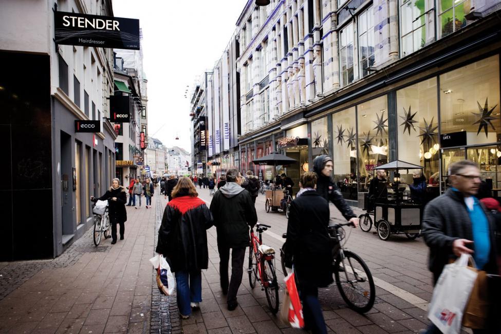 Strøget gågade København 2009