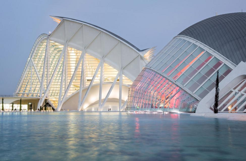 Calatrava Valencia arts and sciences