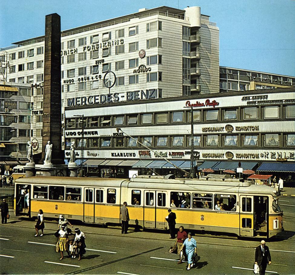 sporvogn på Vesterbrogade