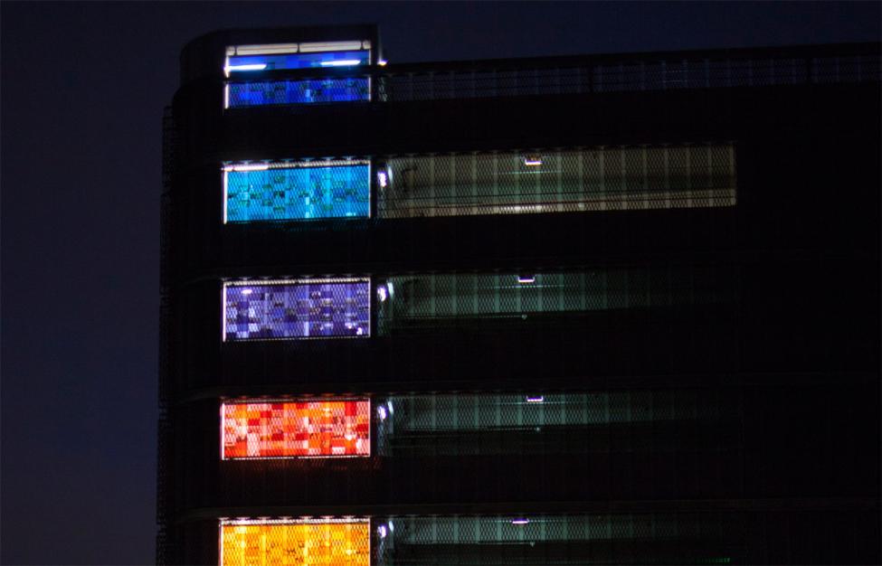 bispebjerg p-hus lys etager