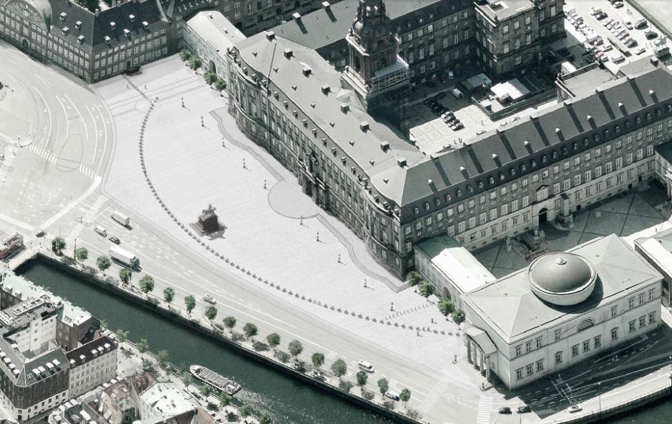 christiansborg slotsplads terrorsikring