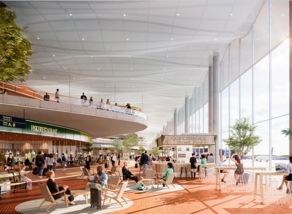 københavns lufthavn vinduesparti