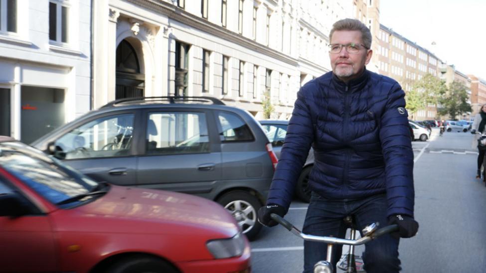 frank jensen på cykel