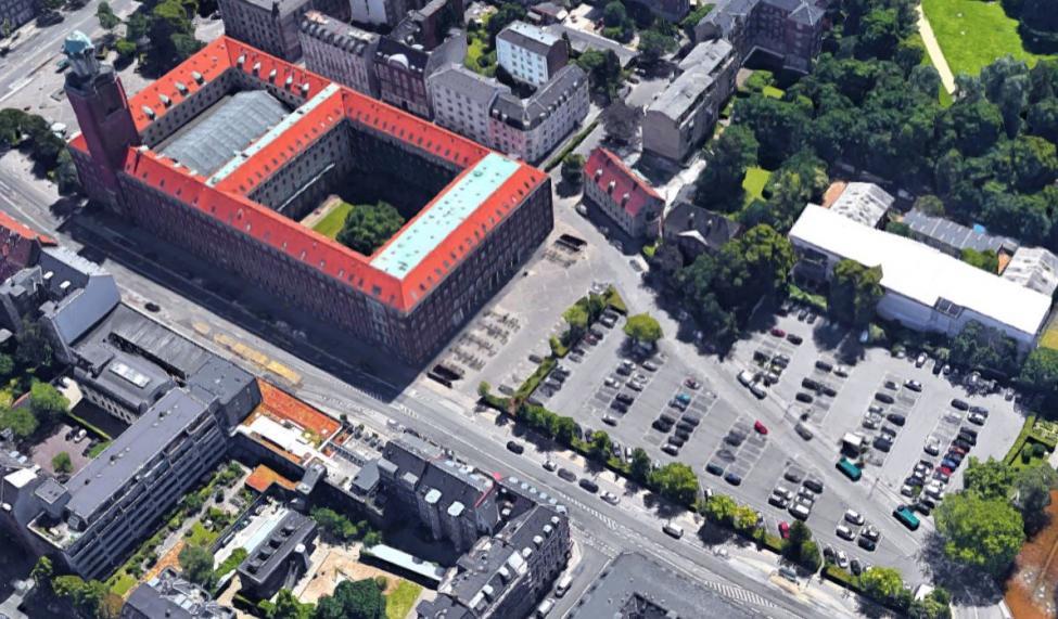 p-plads bag frederiksberg rådhus