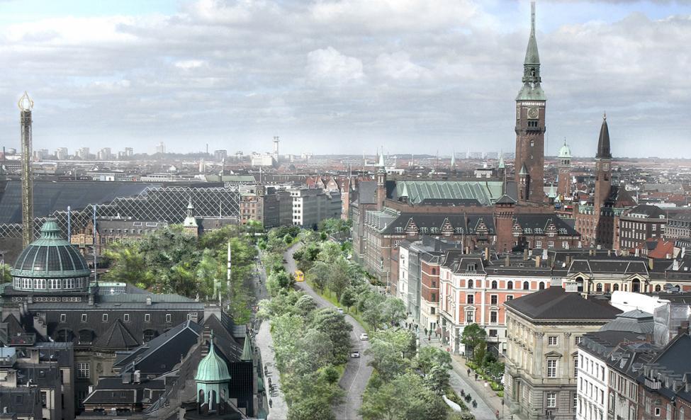 den grønne boulevard miljøpunkt nørrebro