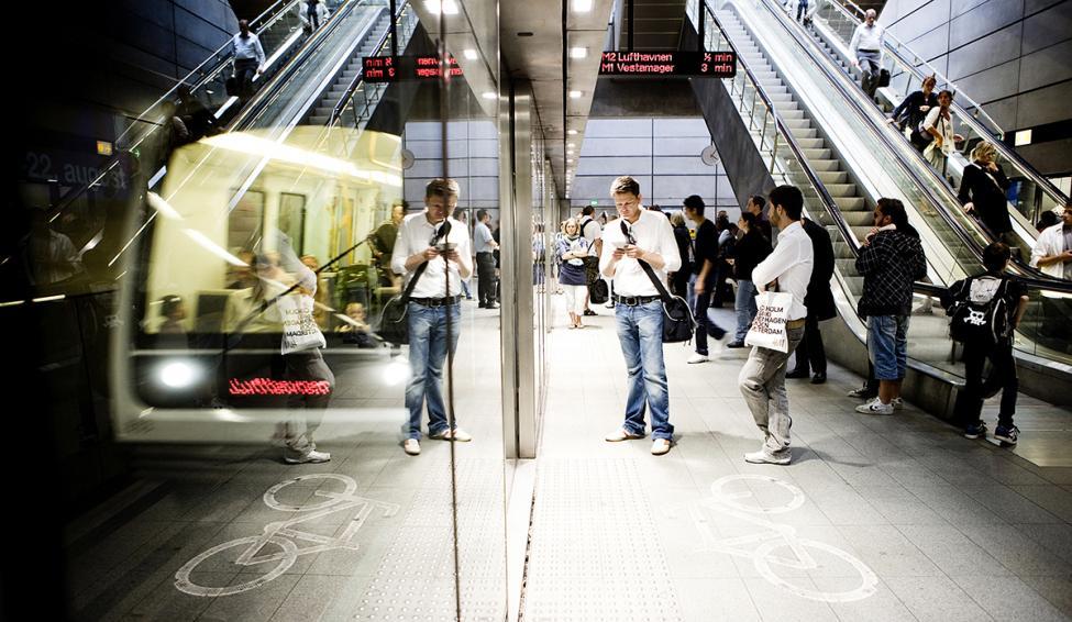 københavns metro perron