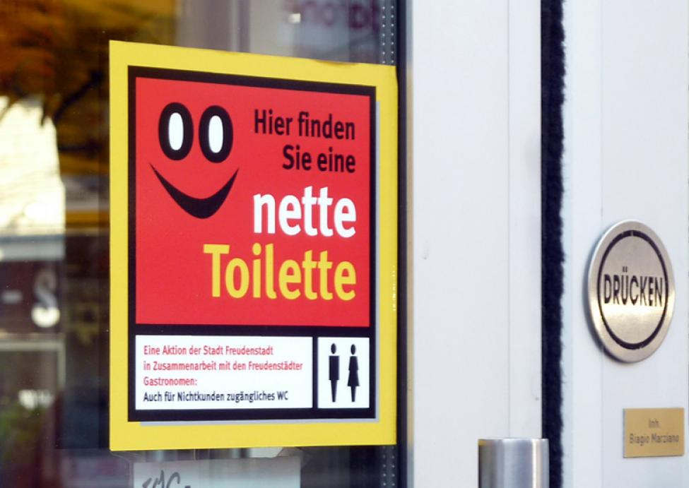 nette toilette sticker freudenstadt