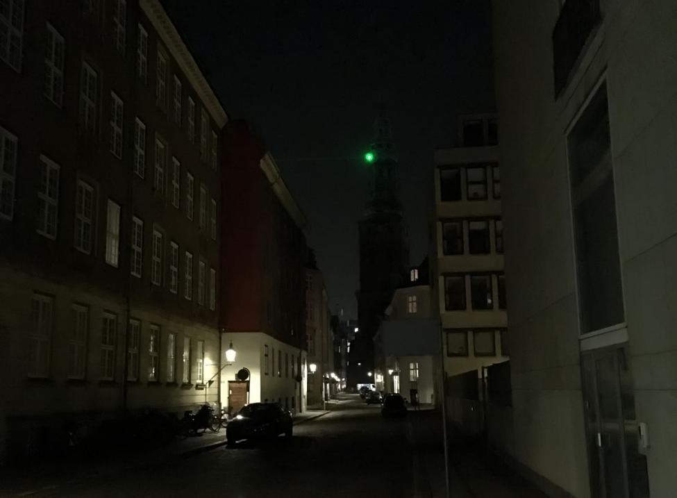 Mørkt København Nikolaj Kirke