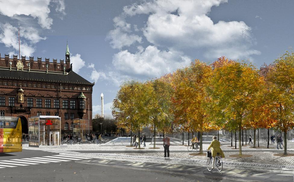 københavns rådhusplads metrostation