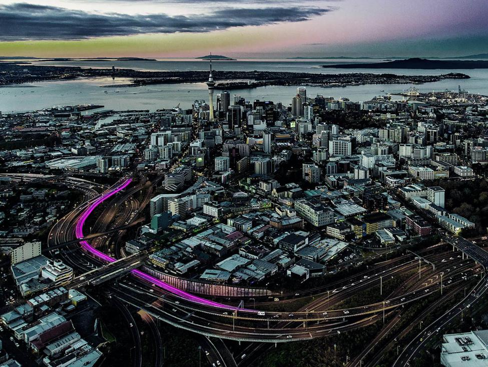 Auckland Bicycle path