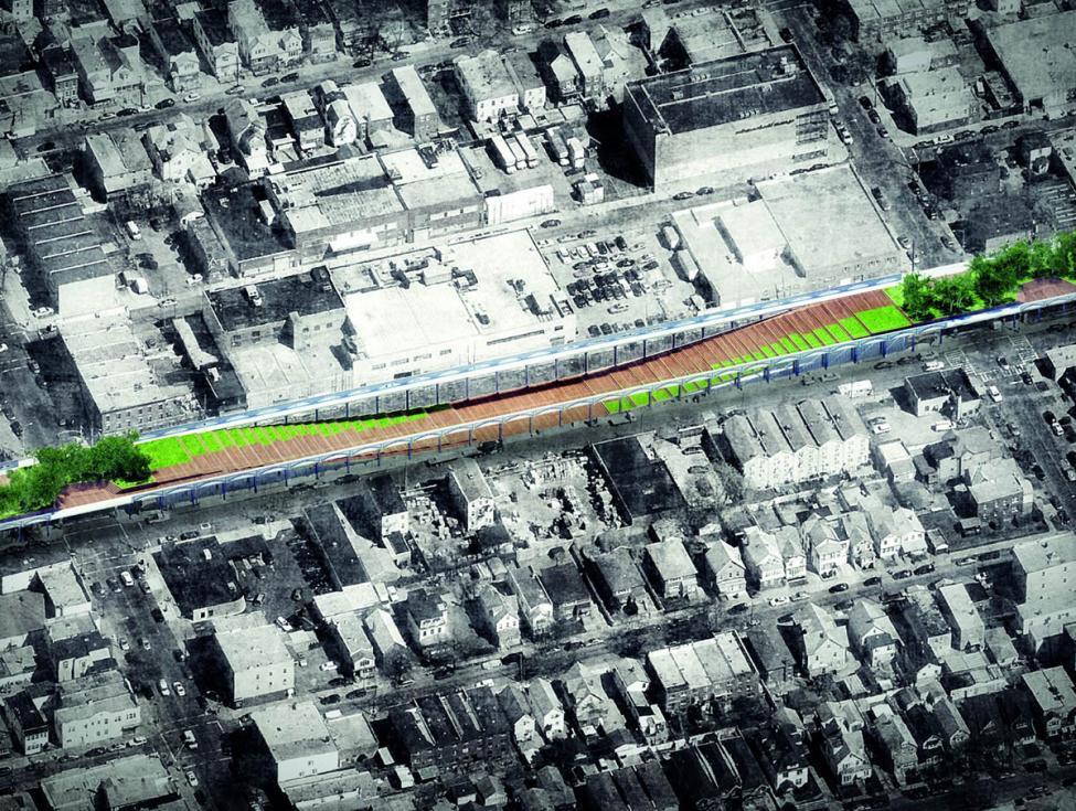 Upside Down Bridge New York oversigt
