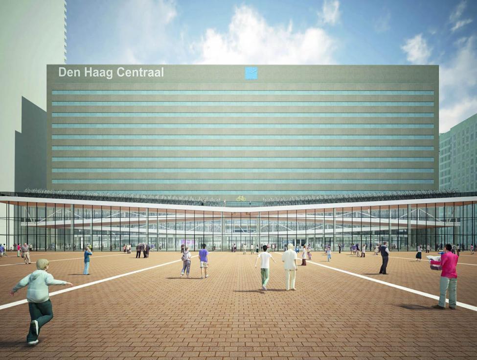 Den Haag cykelparkering