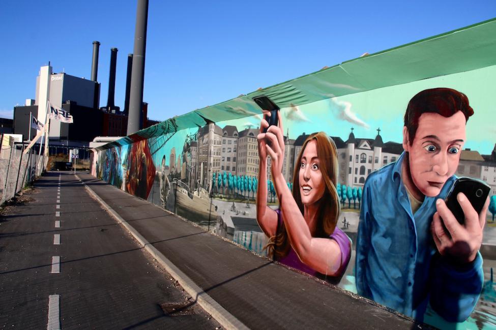 graffitiværk enghave brygge