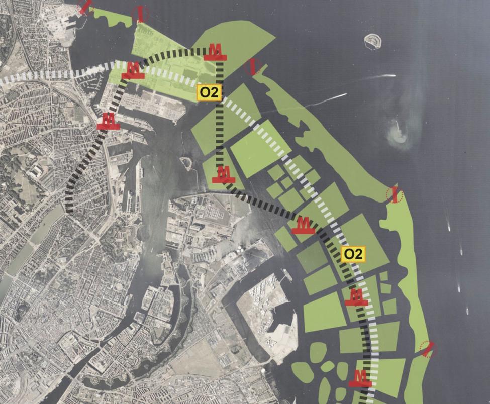 Holme og laguner i Øresund Polyform