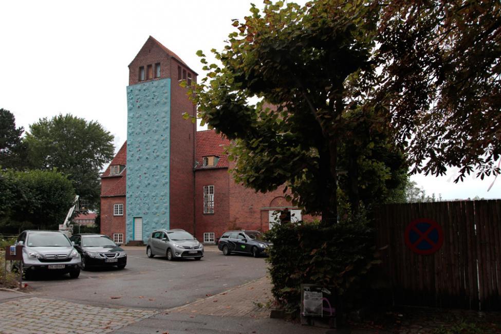 Klatrevæg Frederiksholm Kirke