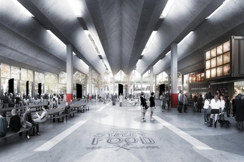 københavns haller madmarked