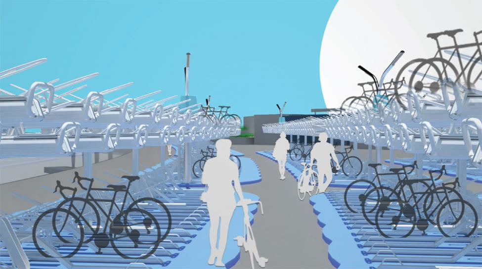 copenhagenize cykelparkering hovedbanen stativer