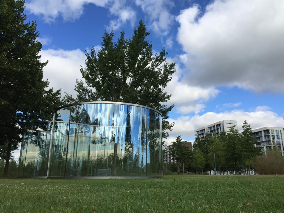 kunstpark Large Loop Becoming A Small Loop