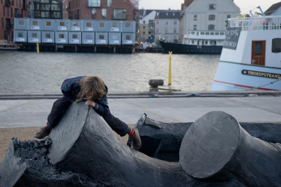 havnepromenade skulptur