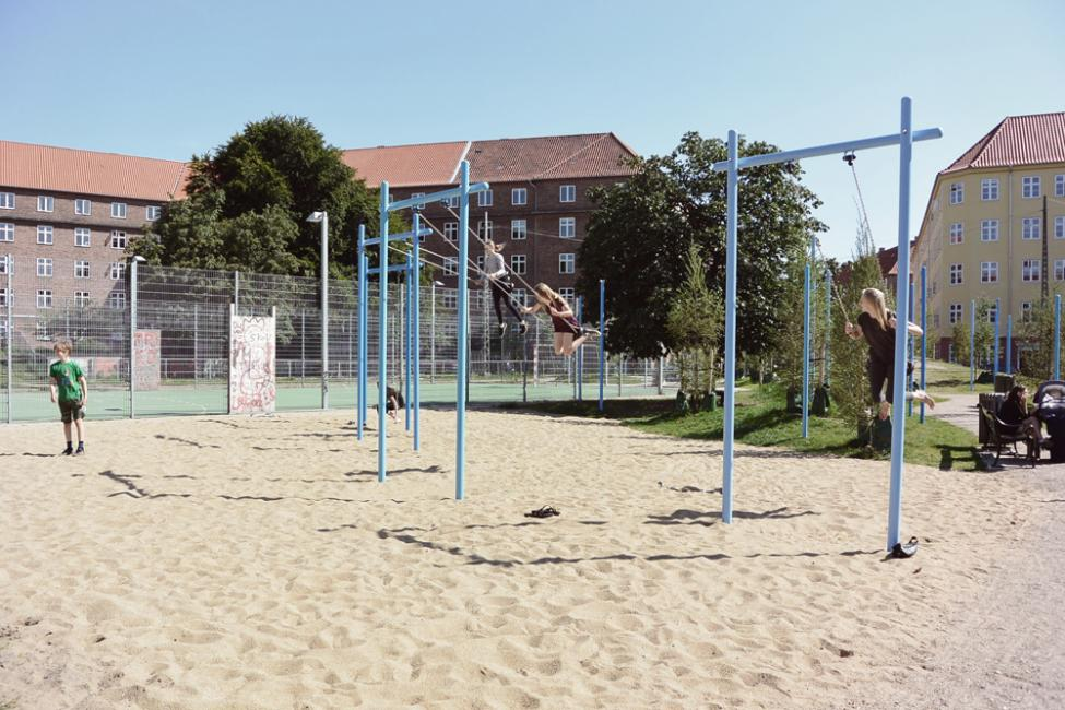 guldbergs plads legeplads