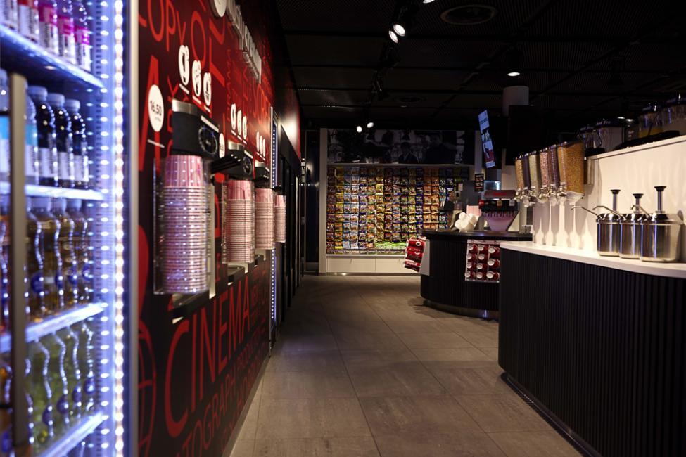 Nordisk Film Biografer Field's slikbutik