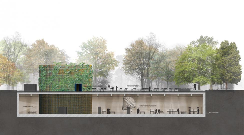 Frihedsmuseet Lundgaard Tranberg snit