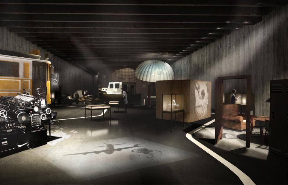 Frihedsmuseet Lundgaard Tranberg interiør