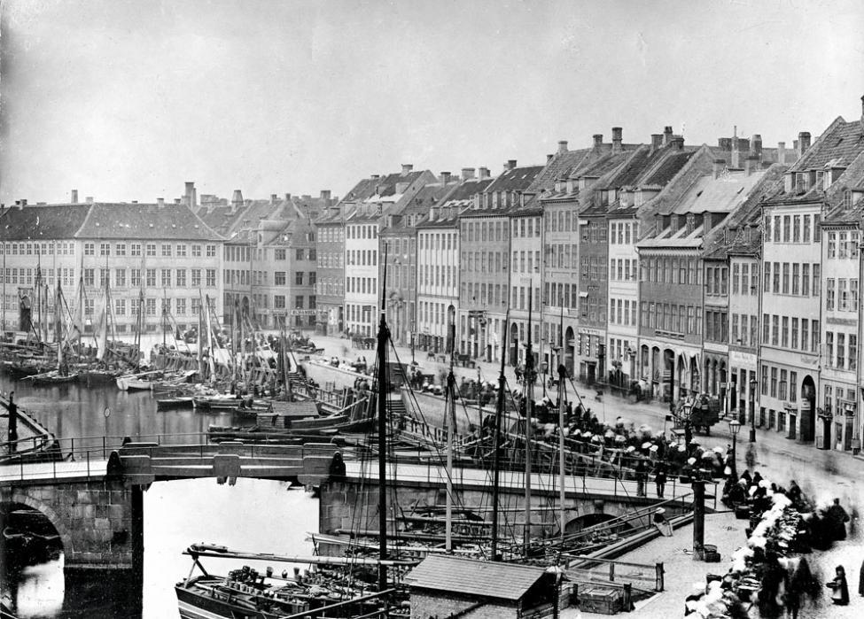 Gammel Strand 1860erne