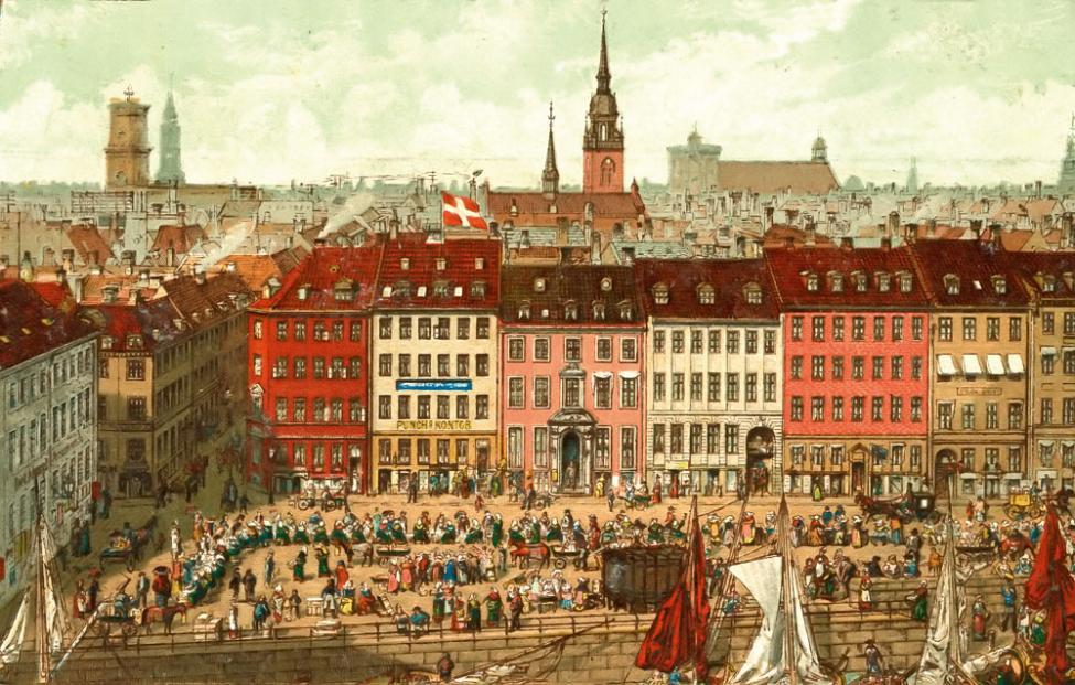 Gammel Strand 1870erne