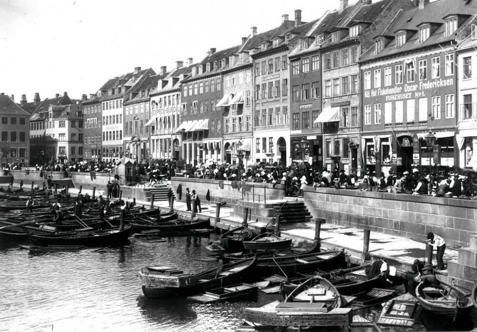 Gammel Strand ca 1900