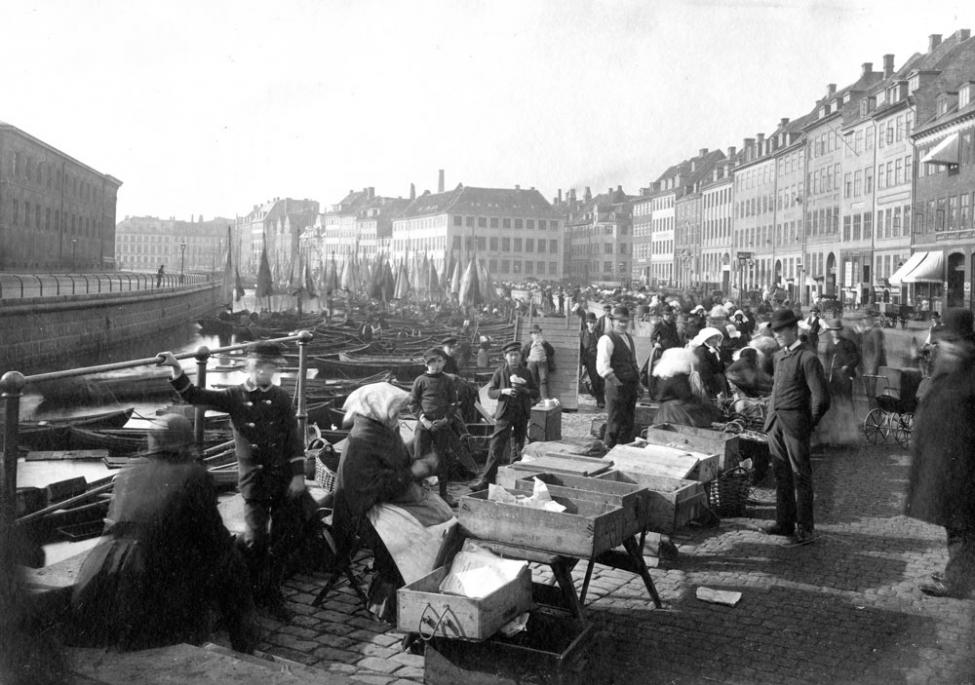 Gammel Strand ca 1890