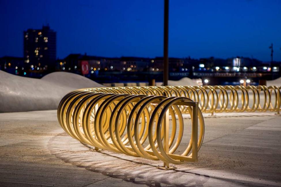 göteborg plads cykelstativ