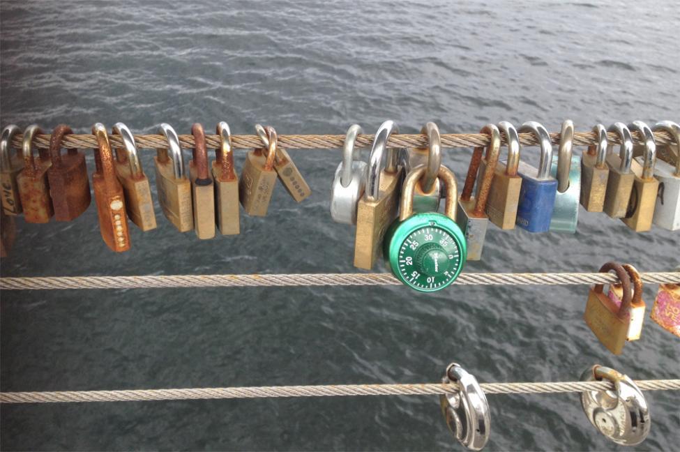 love locks bryggebroen