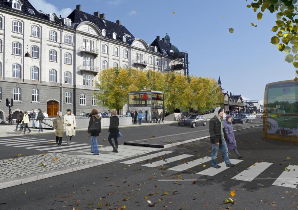 cityringen stationsforpladser