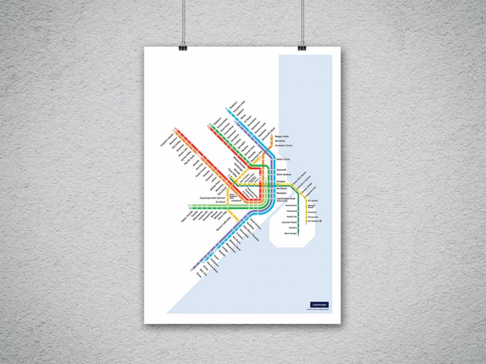 metromash København plakat