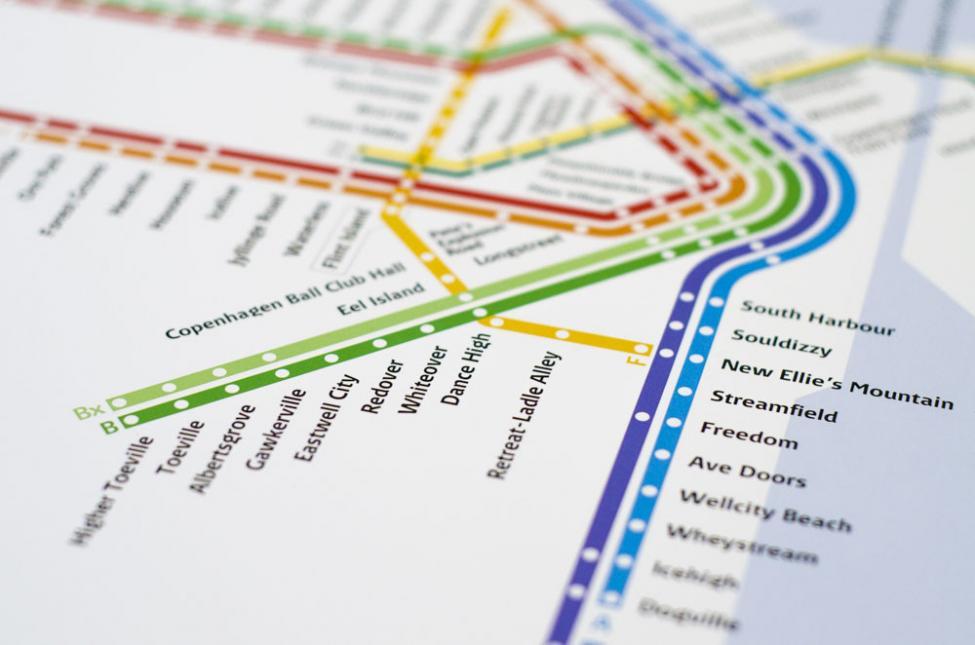 s-tog stationer bogstavelig oversættelse