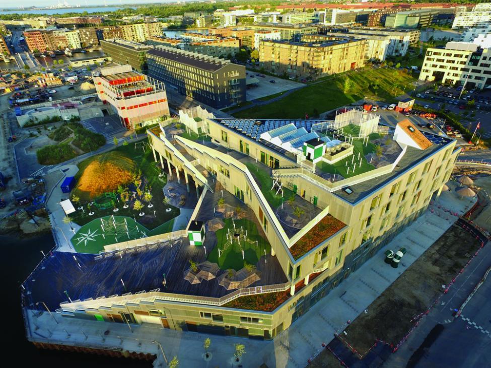 skolen i sydhavn luftfoto
