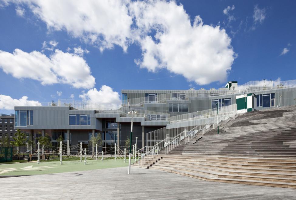 skolen i sydhavn trappe