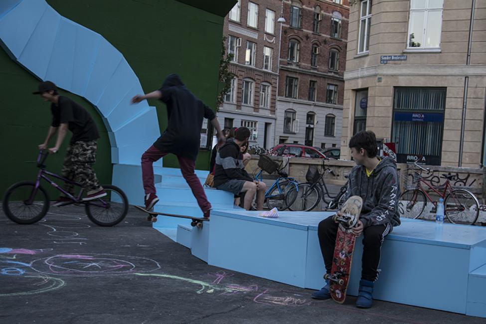 skaters stairway sønder boulevard